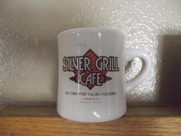 Silver Grill Mug
