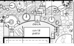 Landscape Plan Deck
